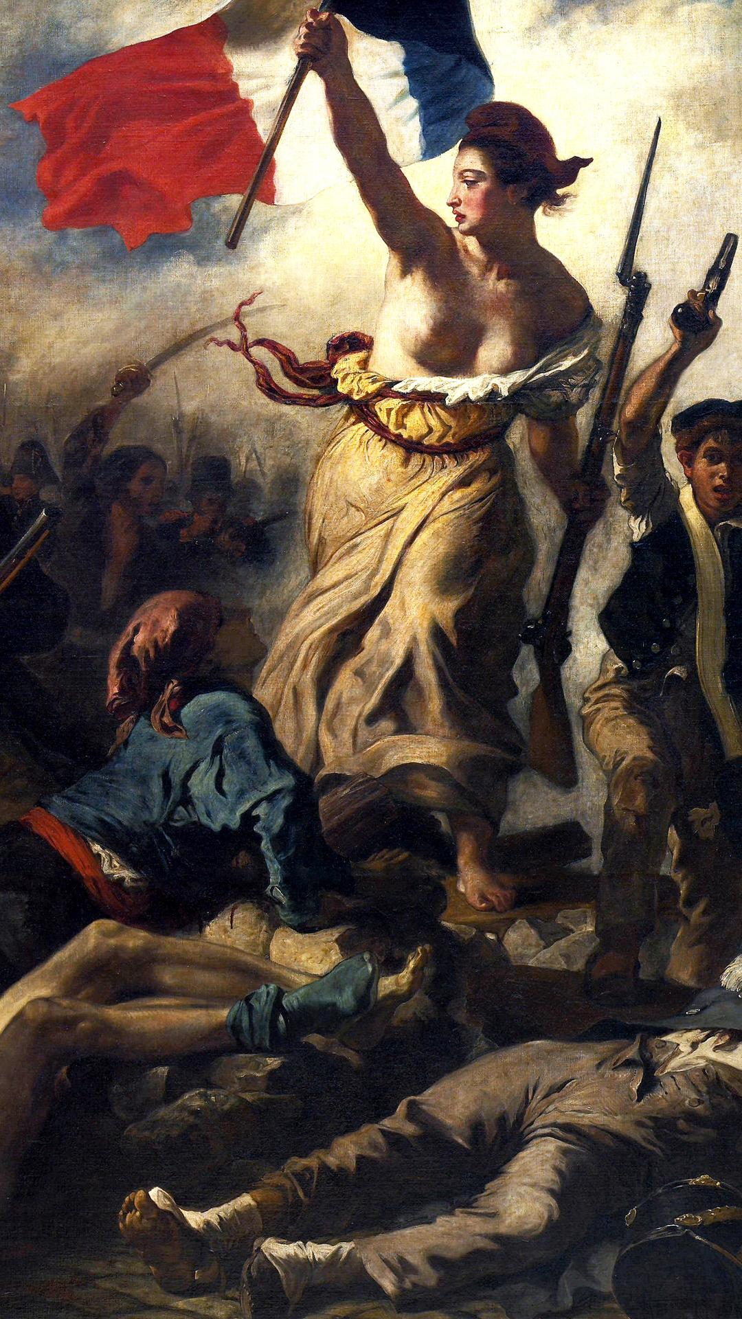 ウジェーヌ ドラクロワ 民衆を導く自由の女神 Pc スマートフォン